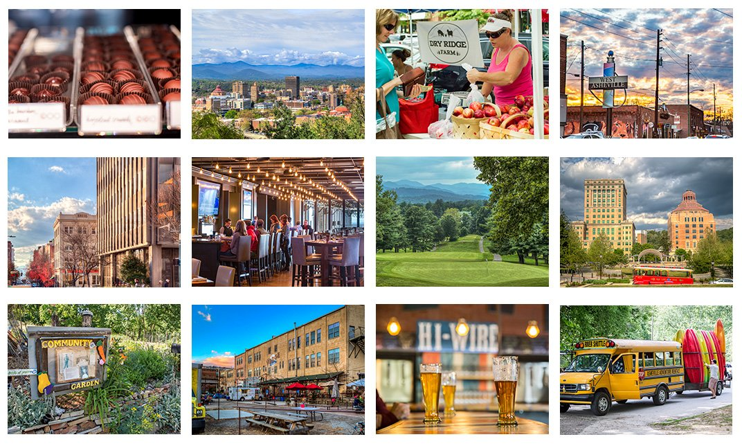 Asheville real estate is all about location. Check out these amazing dining and community spots in Asheville, NC.