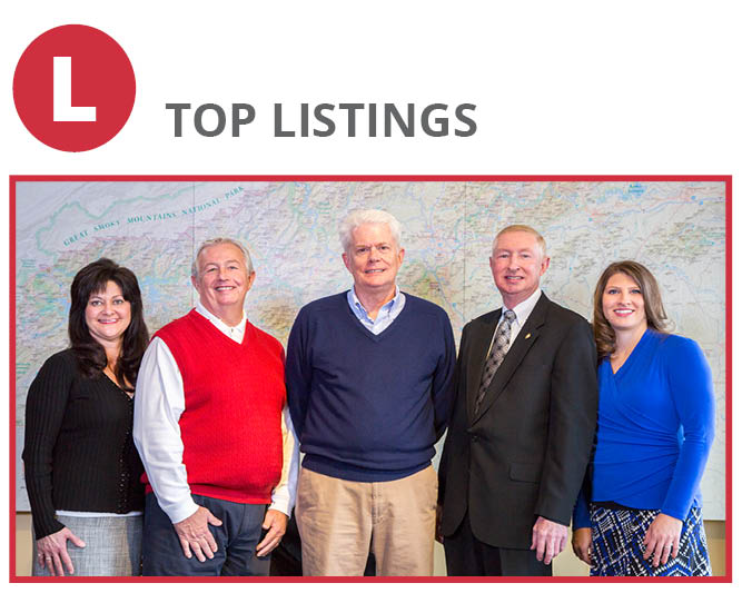 Waynesville Office: Karen Hollingsed, Mike Stamey, John Keith, Billy Case, Michelle McElroy