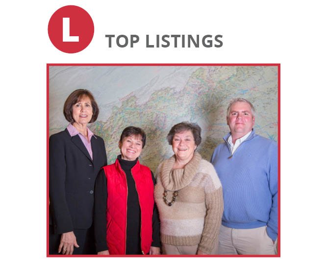 Hendersonville Office: Suzanne Beckmann, Diane Ward, Alysia Maher, Shawn Anderson, Laura Flores (not pictured)