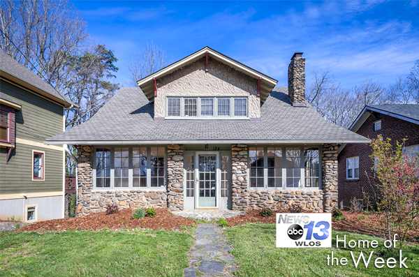 WLOS Home of the Week: 184 Courtland Place