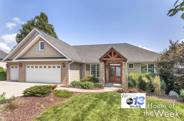 WLOS Home of the Week: 107 Stonegate Drive