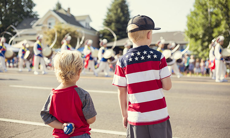 There are July 4th events across WNC that will entertain the whole family