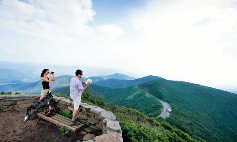 Take time to explore the Blue Ridge and breathe in our fresh mountain air!