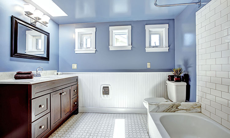 Here are three quick ways to update your bathroom on a budget.